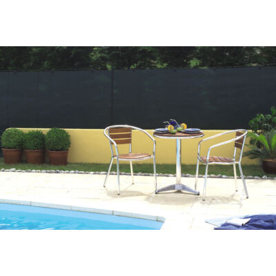 TOTALTEX szőtt árnyékoló-, belátásgátló háló, 2x50m, zöld