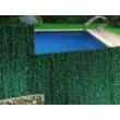 CAMPOVERT galvanizált drótszerkezetre épített sövény jellegű kerítés, 2x3m, zöld