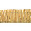 NATURCANE természetes árnyékoló-, belátásgátló kínai bambusznád háló, 1,5x5m, natúr