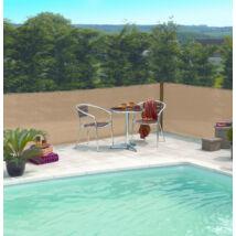 EXTRANET szőtt árnyékoló-, belátásgátló háló, 1,5x10m, homok