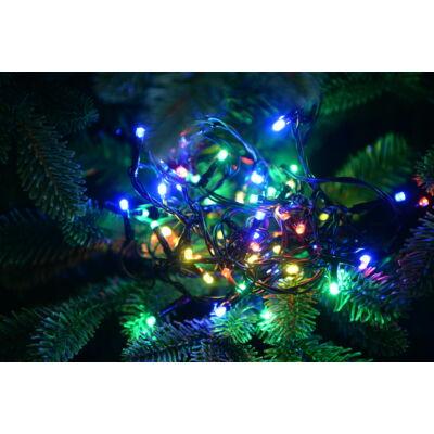Vezérlős LED fényfüzér - multi színekben 4 m, 80 LED