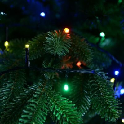Vezérlős LED fényfüzér - multi színekben 12 m, 240 LED