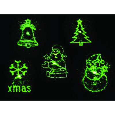 Lézerfény projektor, vörös és zöld lézerfény, 6W