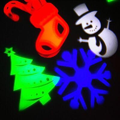 Ünnep szimbólumai kültéri projektor