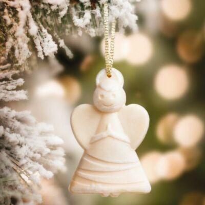 Fenyő illatú angyal dekoráció