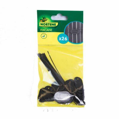 Fixcane rögzítő (26db/csomag) fekete