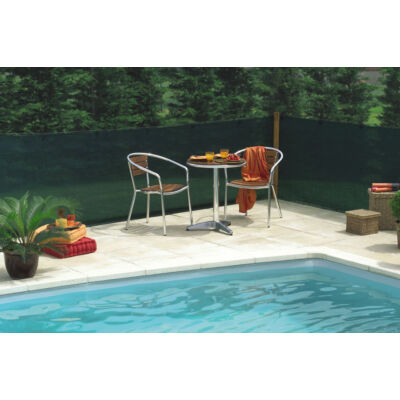 EXTRANET szőtt árnyékoló-, belátásgátló háló, 1x10m, barna