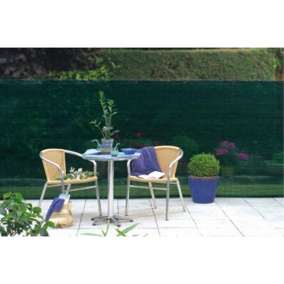 TEXANET szőtt árnyékoló-, belátásgátló háló, 2x10m, zöld