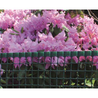 MAXISQUARE műanyag kerti rács 0,5x5m, barna