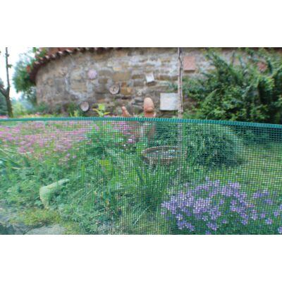 MINISQUARE műanyag kerti rács 1x5m, zöld