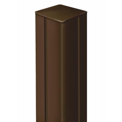Alupost rögzítő oszlop 2,15 m, barna
