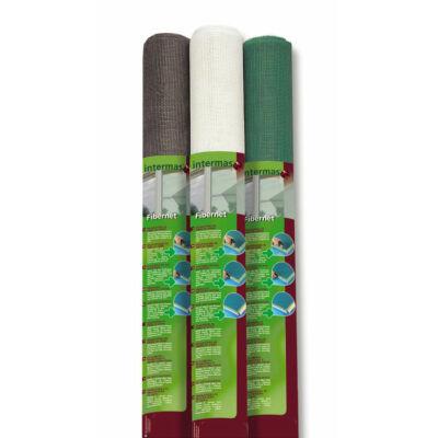 FIBERNET 120 Üvegszál erősítésű szúnyogháló, 1,2x30m, ezüst