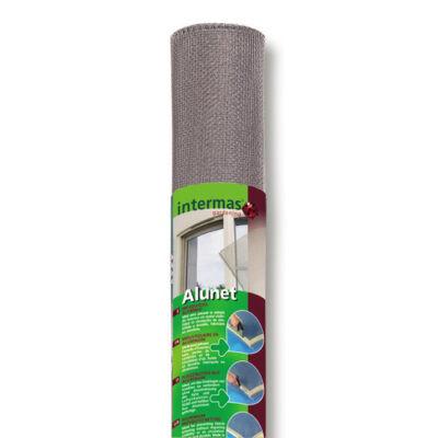 ALUNET 120 Alumínium szúnyogháló, 1,0x2,5m, szürke