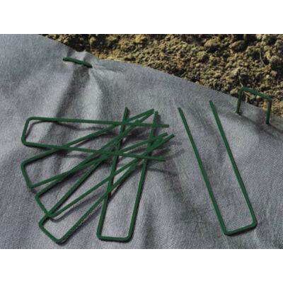 FIXSOL rögzítő fémkapocs, 17x3,5cm, zöld
